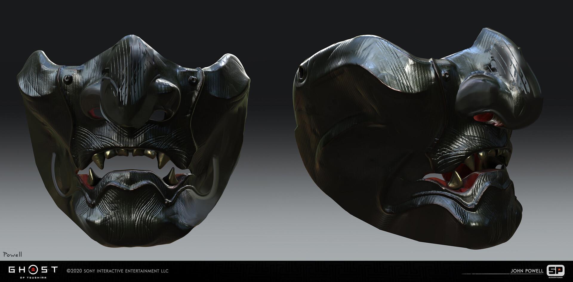 Quelle: ArtStation - John Powell - collectible masks
