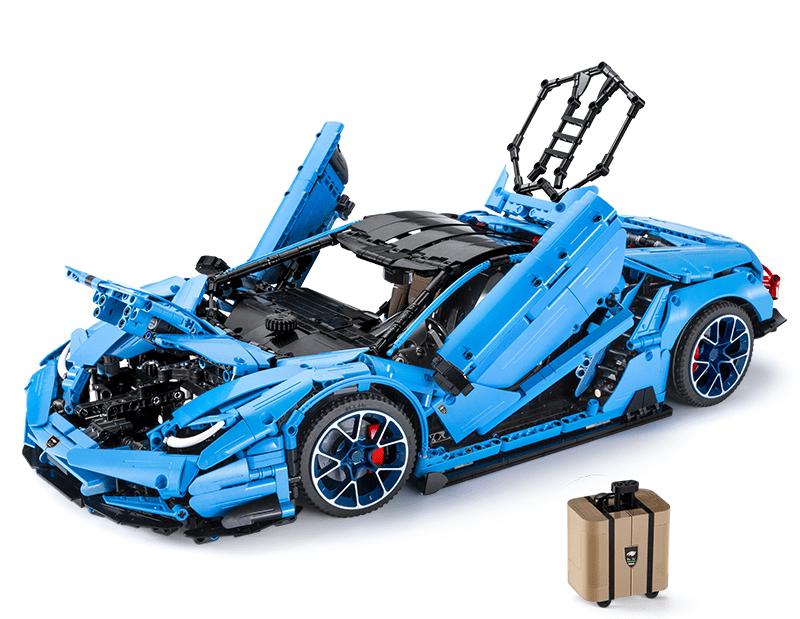 Quelle: CaDA - Super Car in blue Details