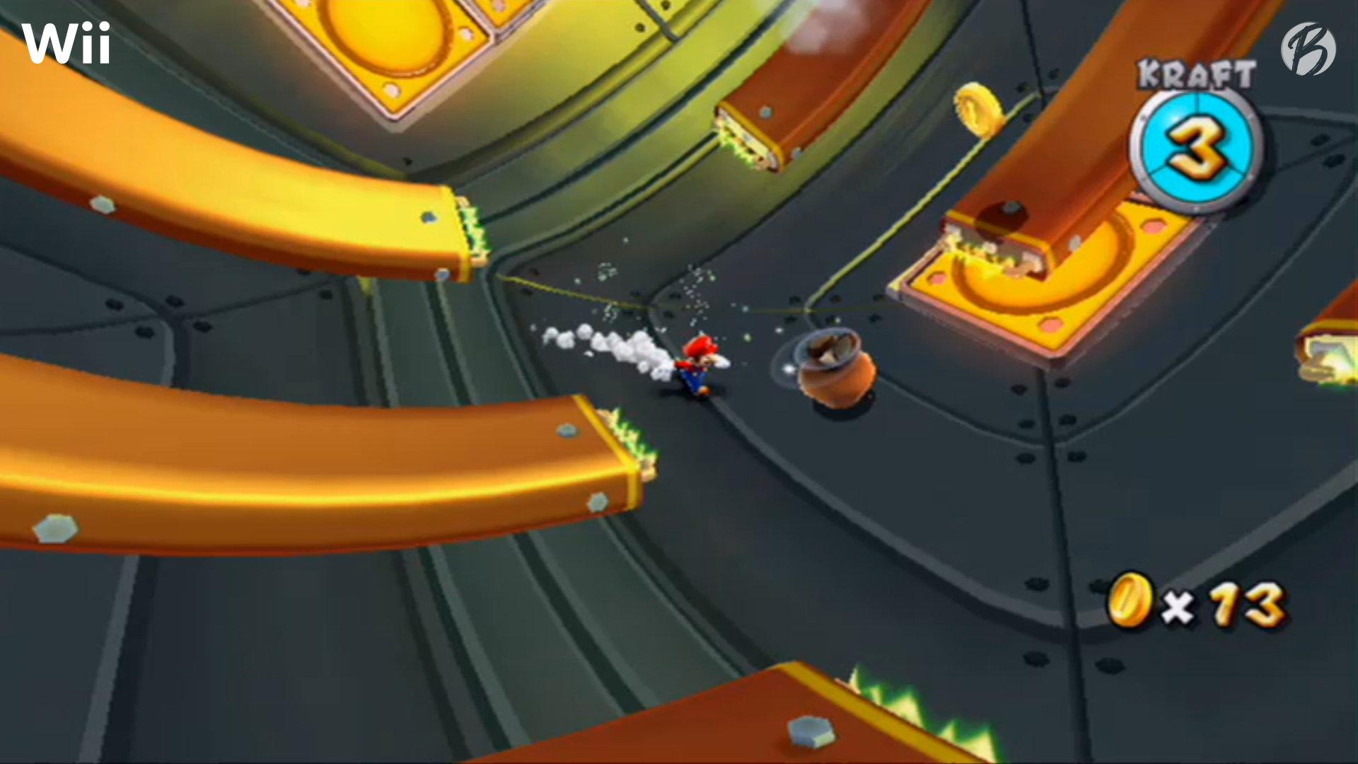Super Mario Galaxy - Druckplatten - Vergleich: Nintendo Wii (Upscaled)