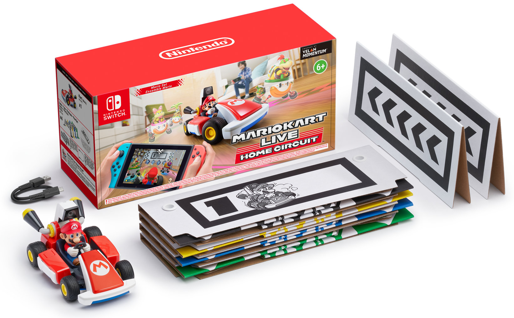 Quelle: Nintendo - Mario Kart Live: Home Circuit - Verpackung und Umfang
