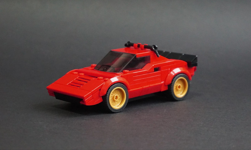 Jonathan Elliott - LEGO 1974 Lancia Stratos HF Stradale