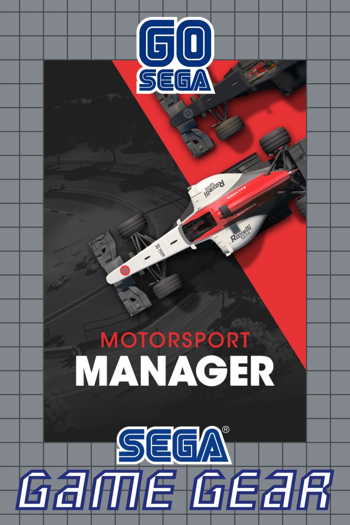 Quelle: SEGA - Motorsport Manager (2016) GAMEGEAR