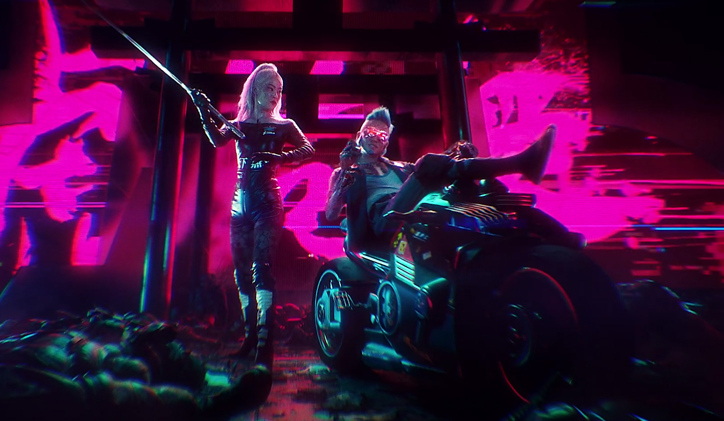Quelle: YouTube - Run the Jewels - Die Detailverliebtheit im Video feuert den Hype zu Cyberpunk 2077 noch mehr an.