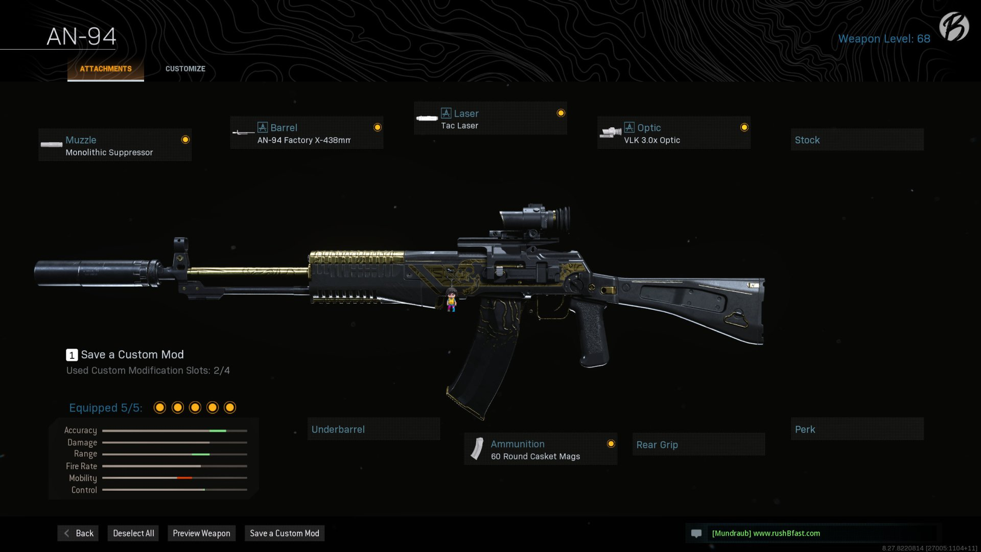 Warzone Loadout: AN-94 (Season 6)