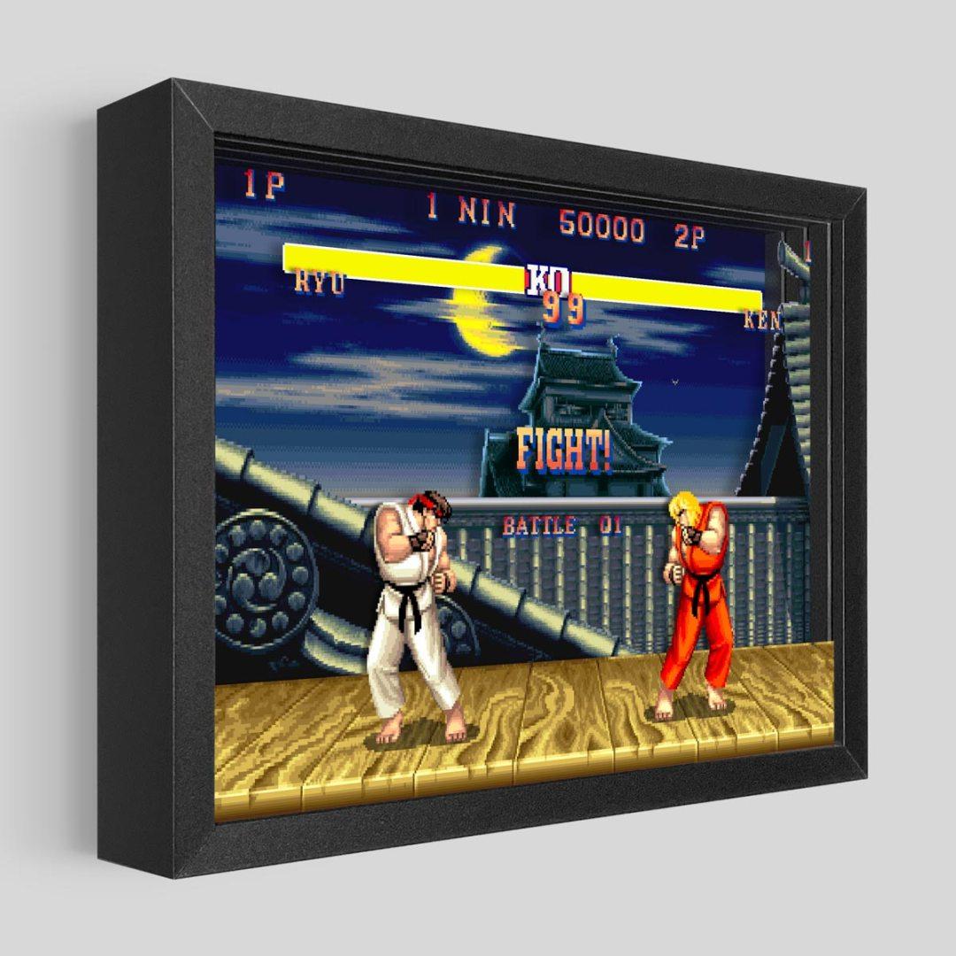 Quelle: Artovision - Street Fighter Shadowbox Art Ryu vs Ken