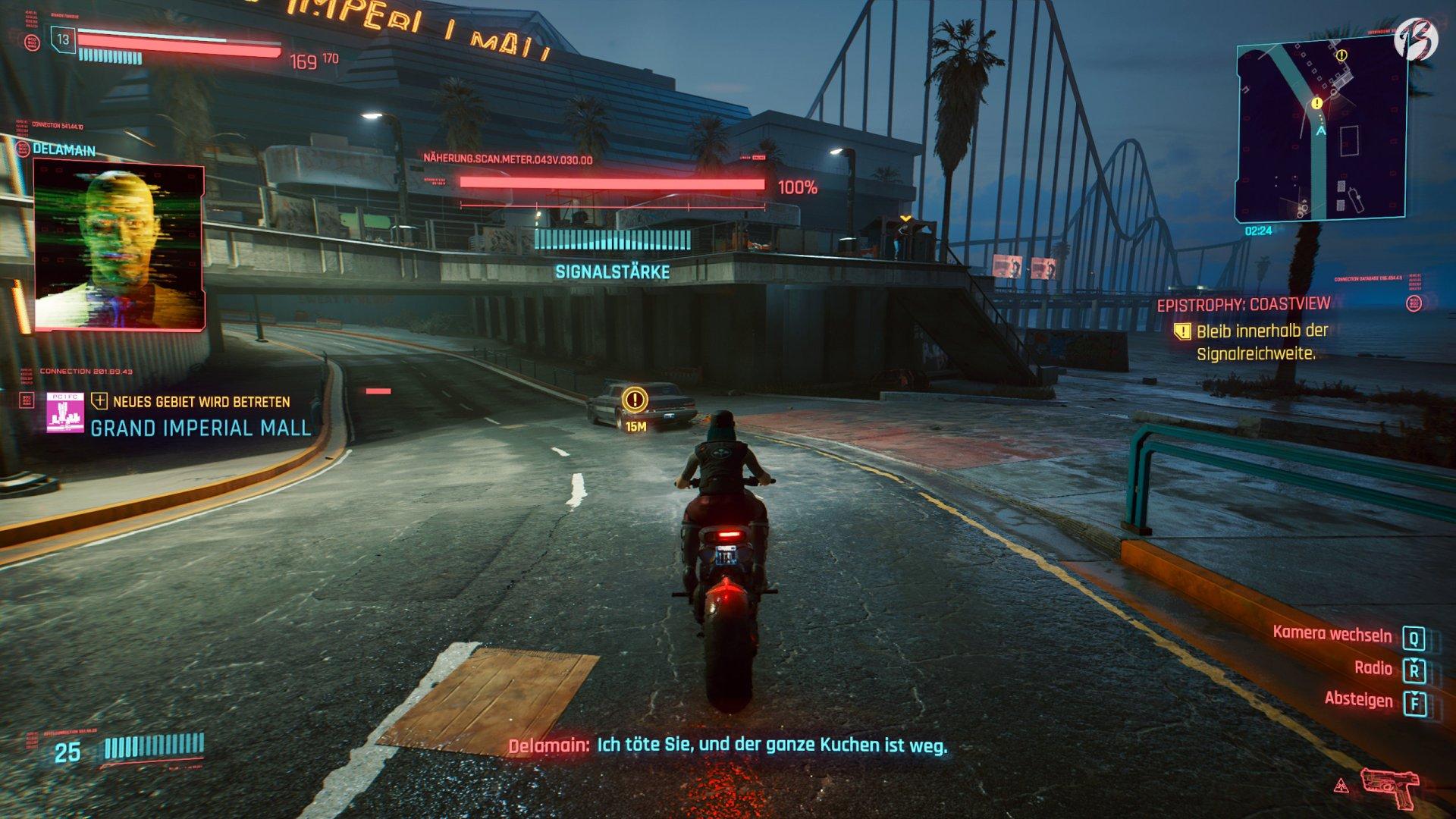 Cyberpunk 2077 - Taxi mit GLaDOS Stimme