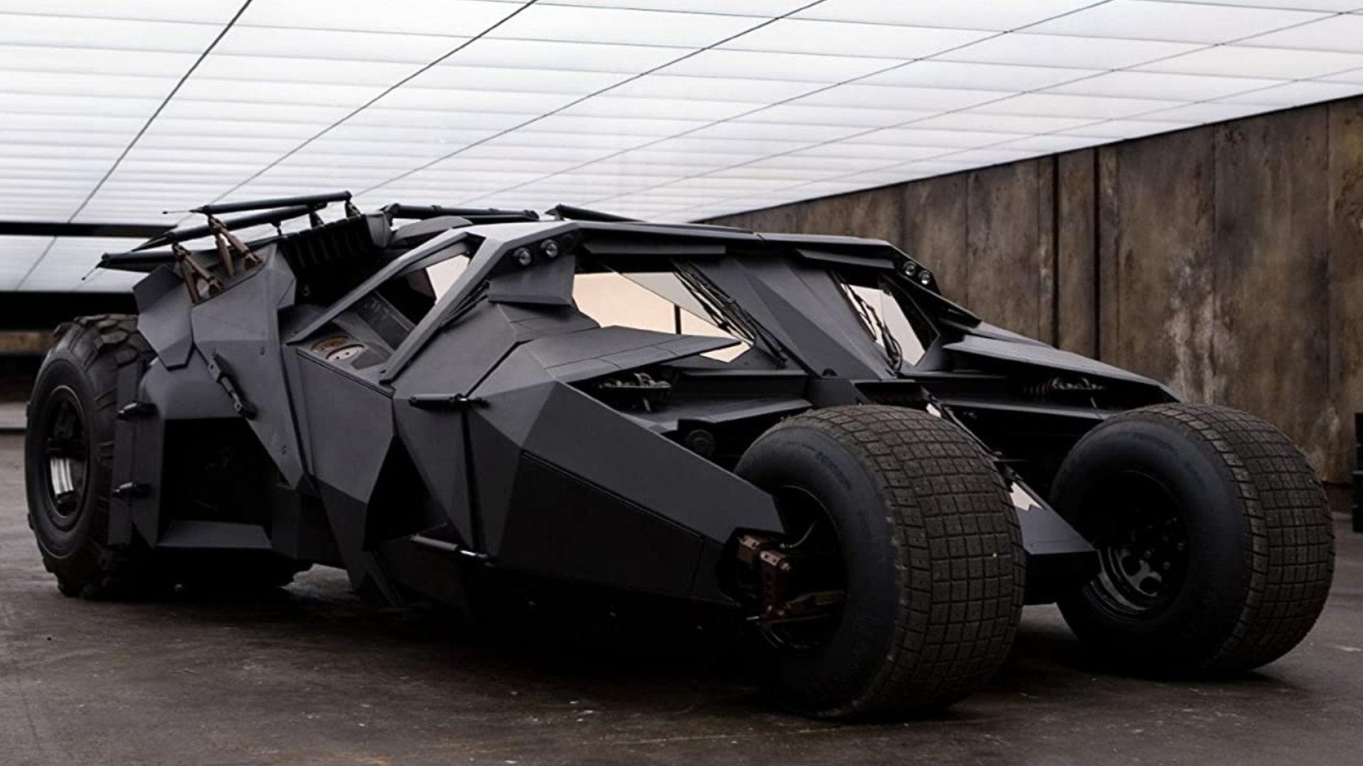 Quelle: Warner Bros. Entertainment - Tumbler (Batmobil) aus dem Film The Dark Knight