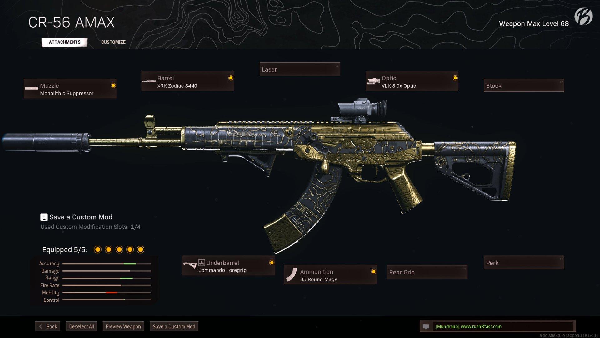 Call of Duty Warzone - Cold War Season 1 - CR-56 AMAX