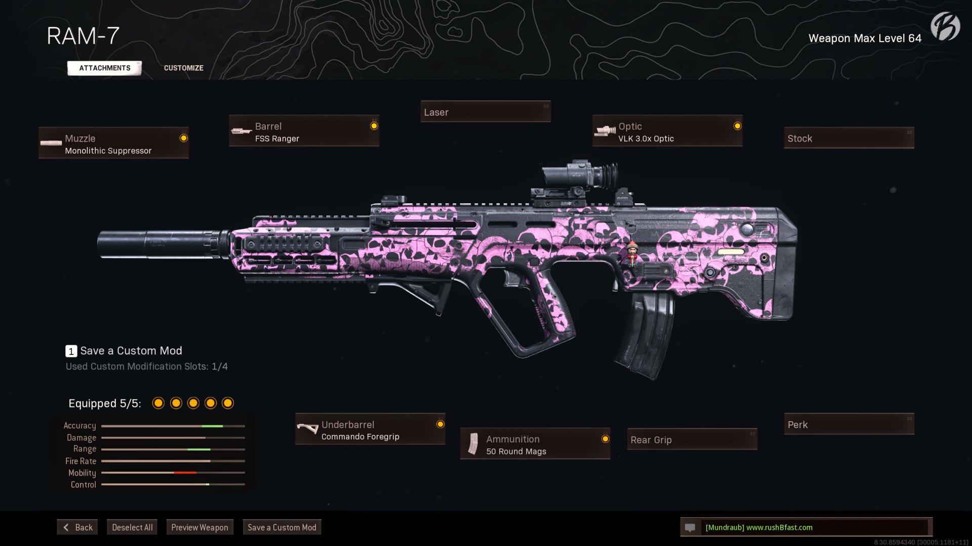 Call of Duty Warzone - Cold War Season 1 - RAM-7