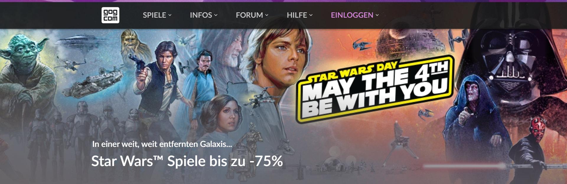 Quelle: GOG - Star Wars Angebote