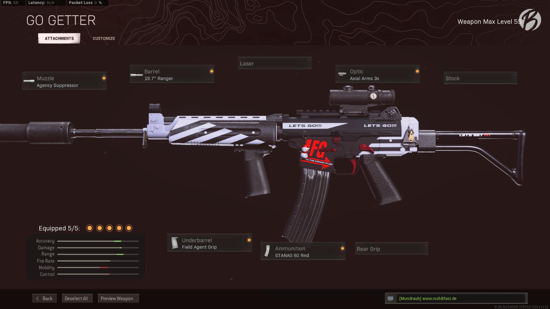 Call of Duty Warzone - Cold War Season 3 - KRIG-6