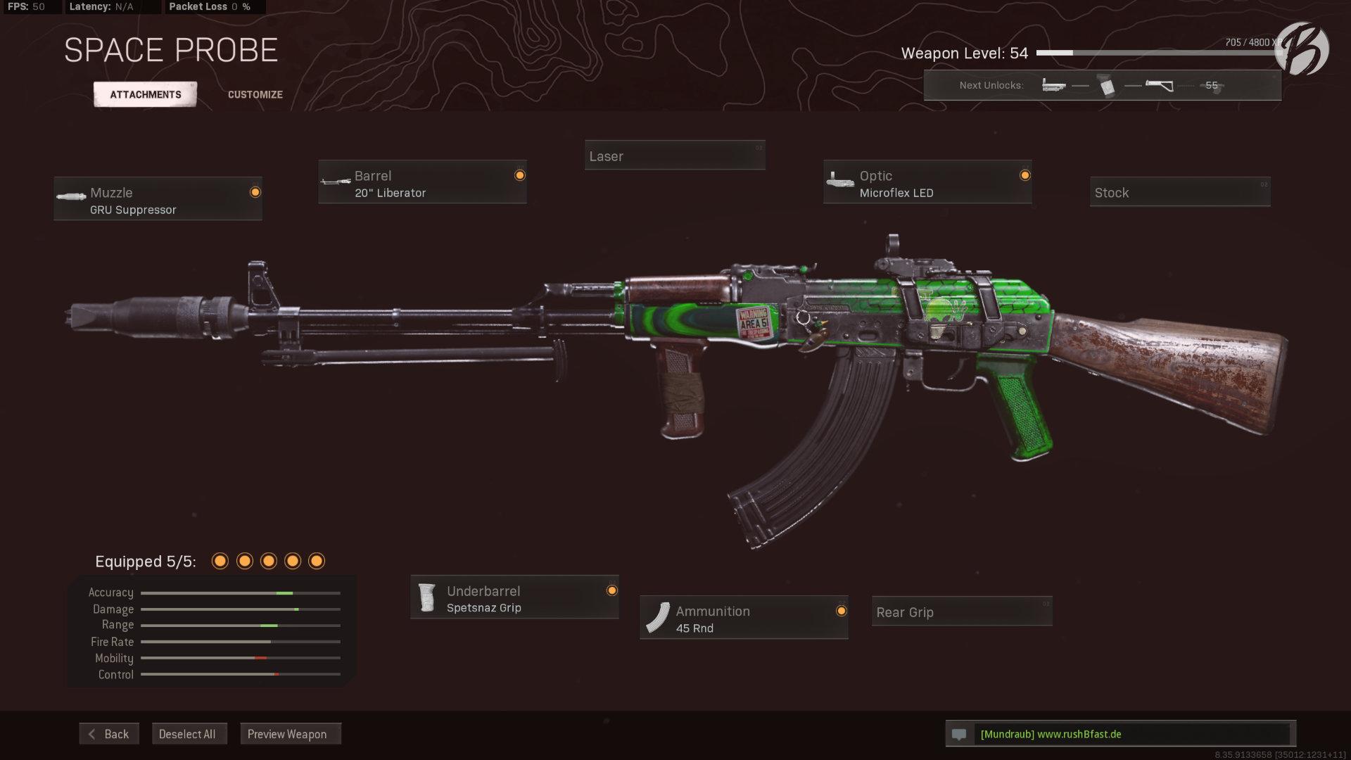 Call of Duty Warzone - Cold War Season 3 - AK-47