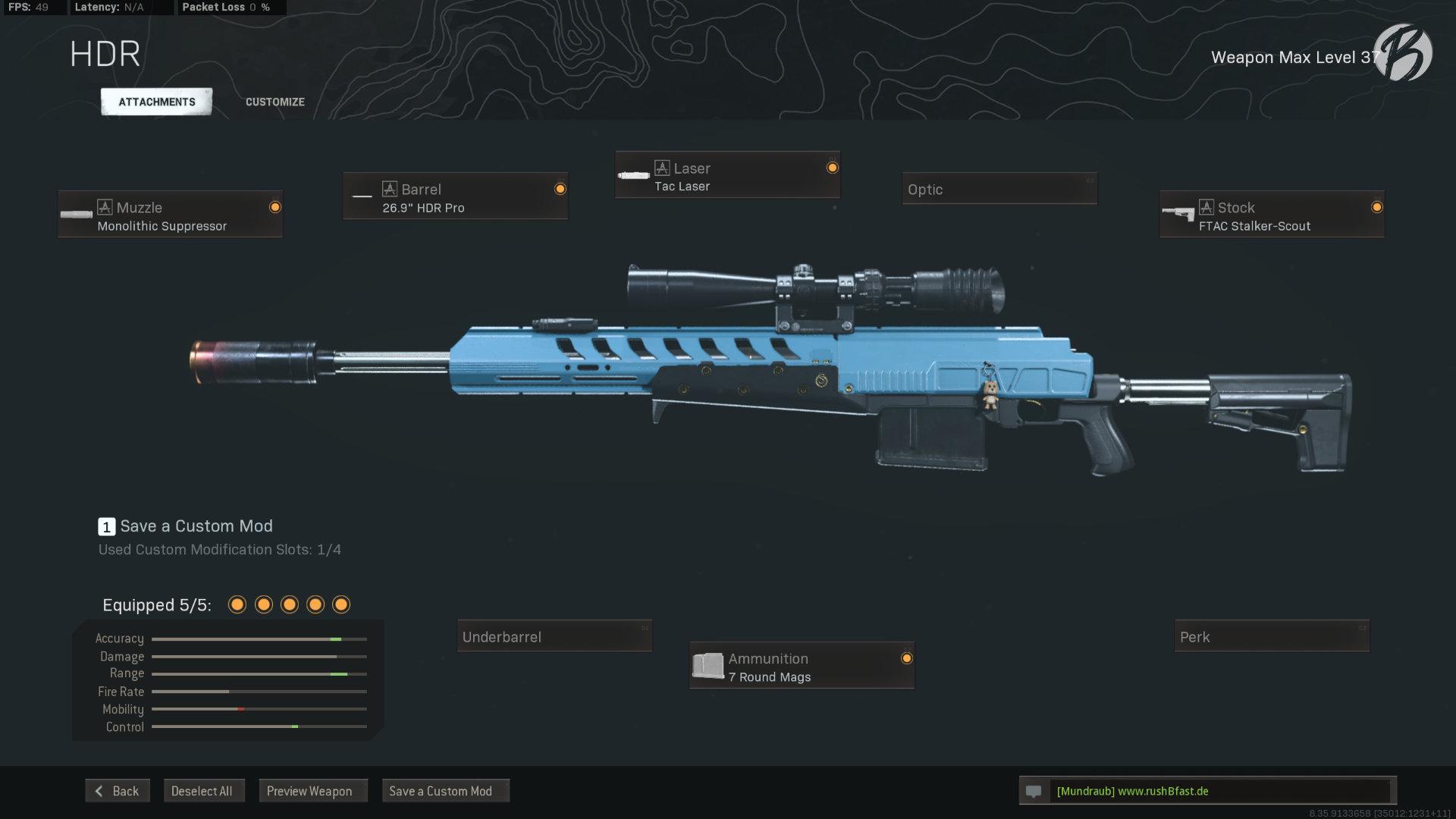 Call of Duty Warzone - Cold War Season 3 - HDR