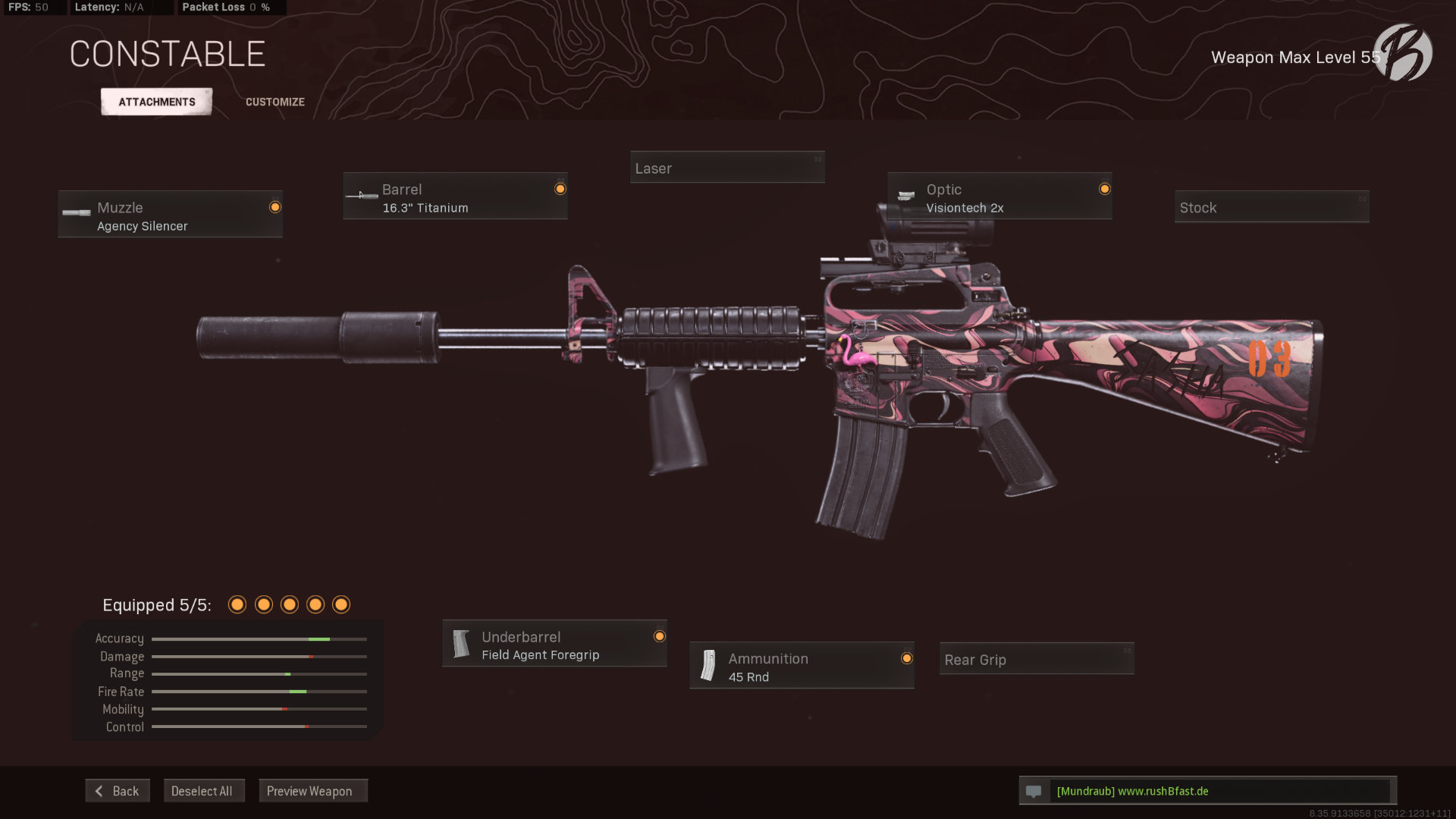 Call of Duty Warzone - Cold War Season 3 - M16