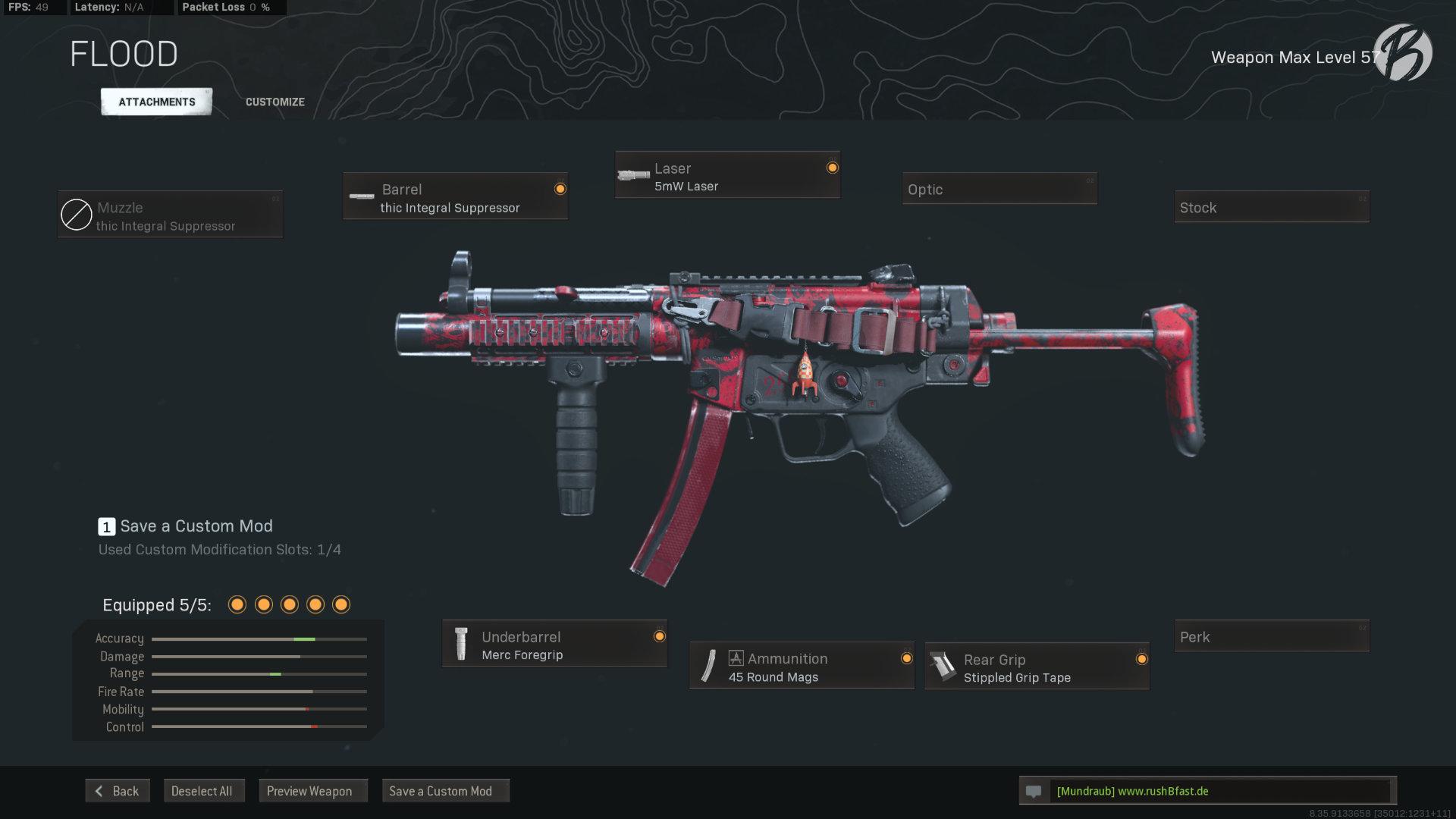 Call of Duty Warzone - Cold War Season 3 - MP5