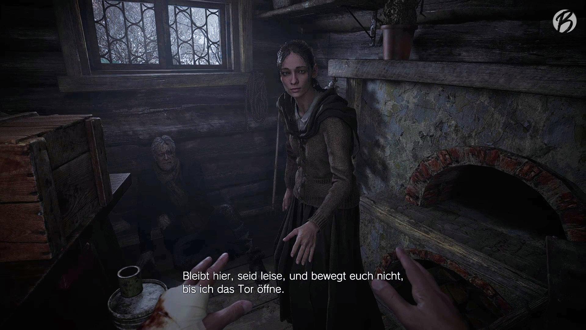 Resident Evil Village - Zufall? Nach einem Biss bleiben Ethan nur noch acht Finger übrig, das passt wie die Faust aufs Auge zu Resident Evil 8.