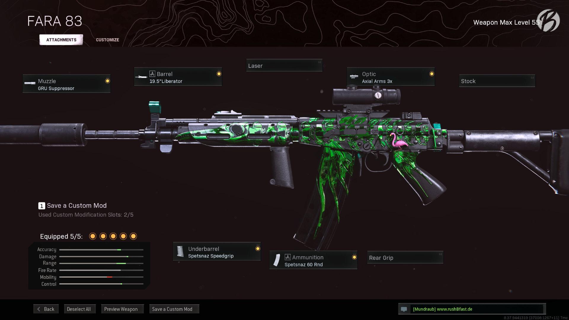 Call of Duty Warzone - Cold War Season 4 - FARA 83 (englisch)