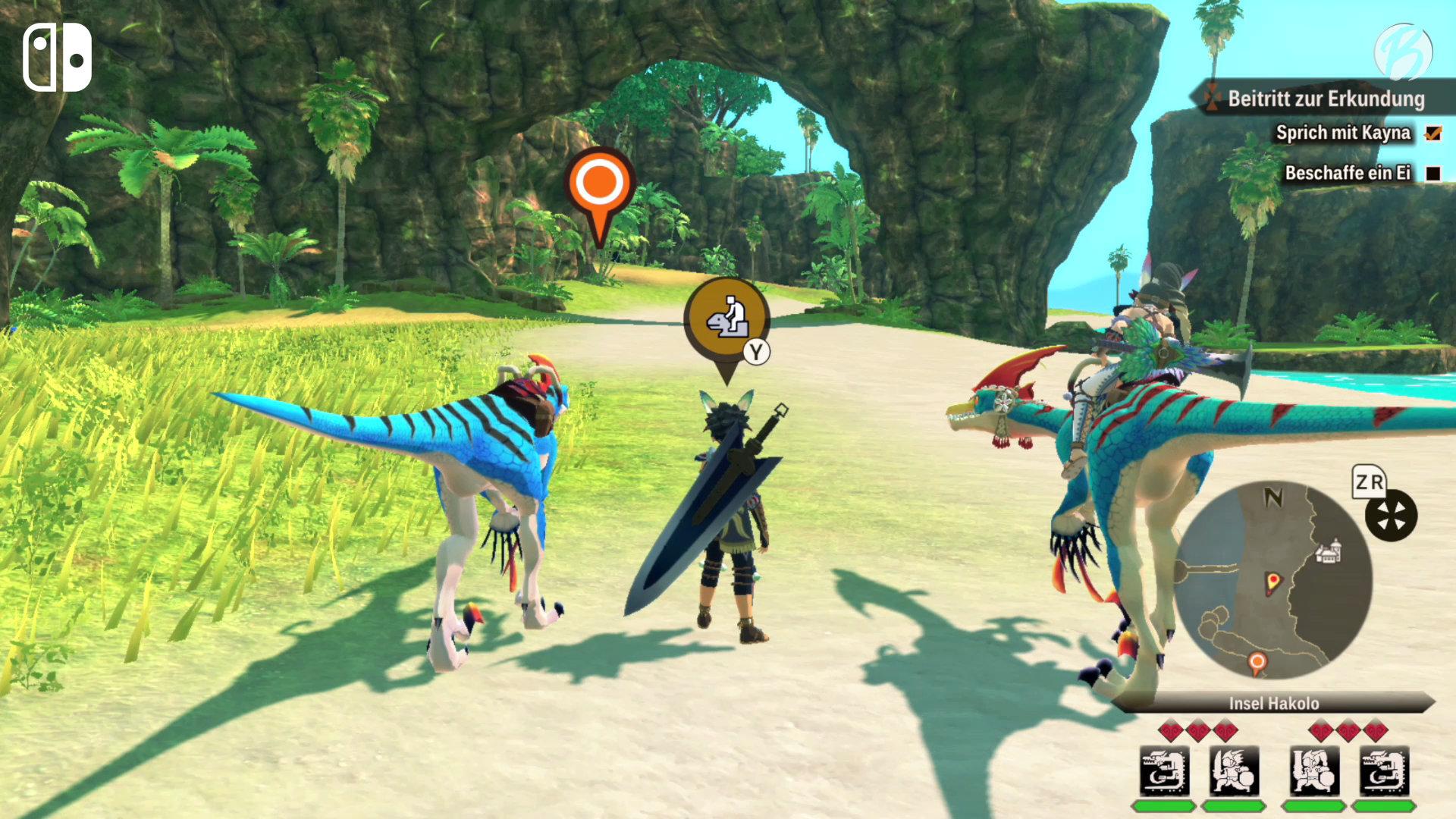 Monster Hunter Stories 2: WoR - Switch-Vergleich - Spielwelt