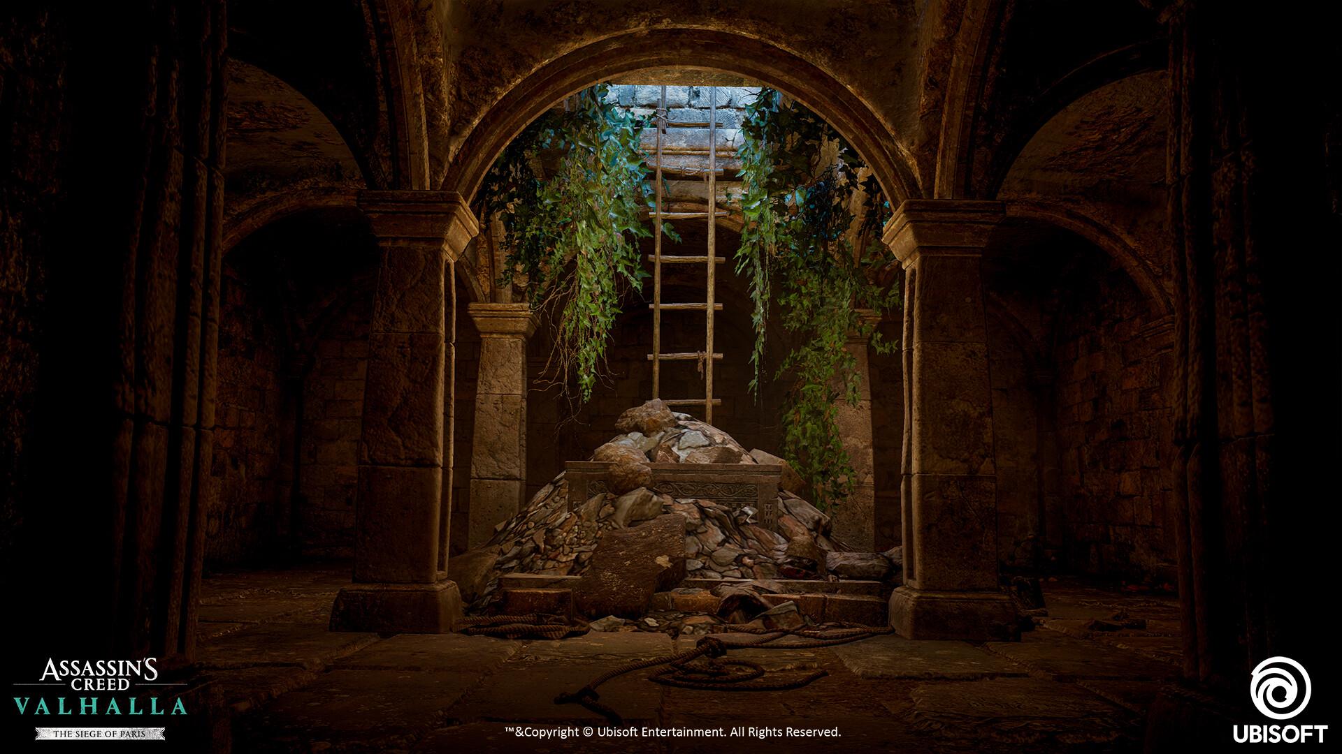 Quelle: artstation - Genesis Asis - AC:V Saint Denis Ladder