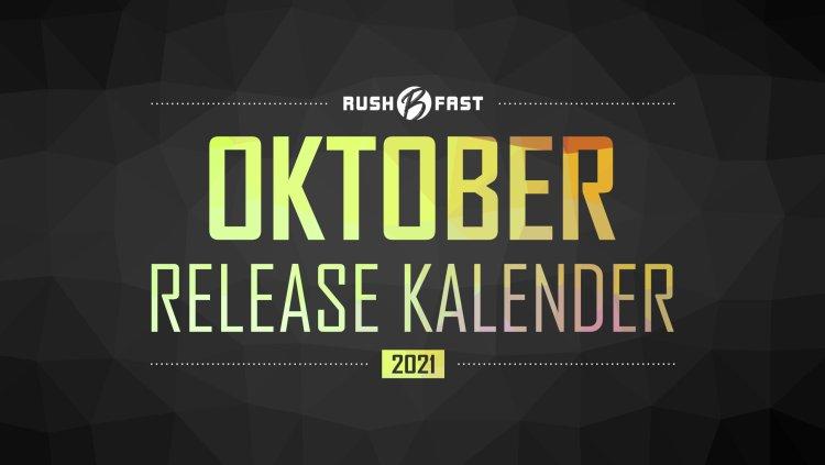 rushBfast - Game-Release-Kalender: Oktober 2021