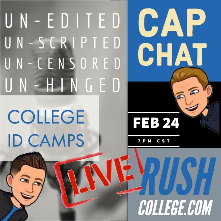 CAP CHAT LIVE Feb 17