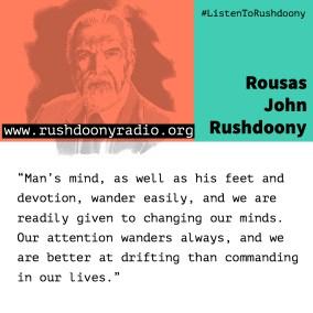 Rushdoony Quote 24