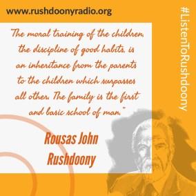 Rushdoony Quote 30