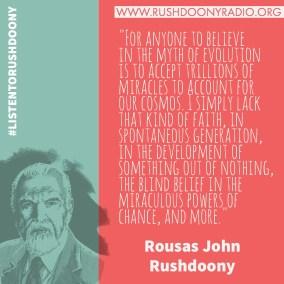 Rushdoony Quote 32