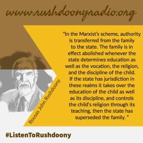 Rushdoony Quote 40