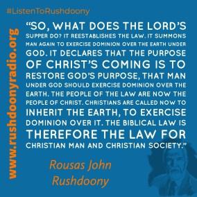 Rushdoony Quote 53