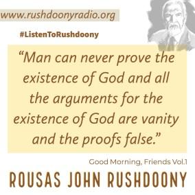 Rushdoony Quote 52