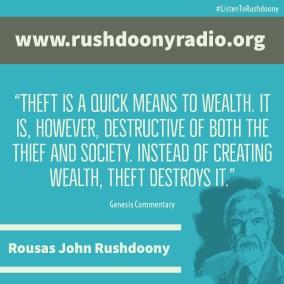 Rushdoony Quote 67