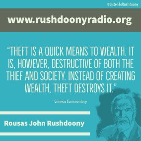 Rushdoony Quote 67