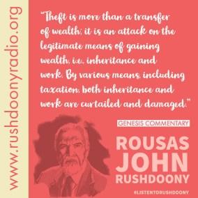 Rushdoony Quote 68