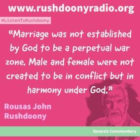 Rushdoony Quote 70