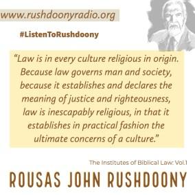 Rushdoony Quote 96