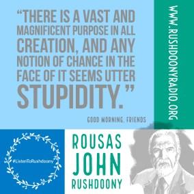 Rushdoony Quote 109