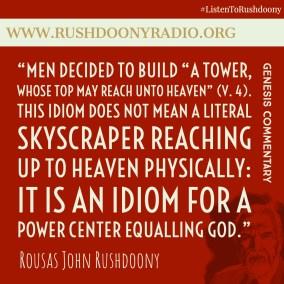 Rushdoony Quote 123