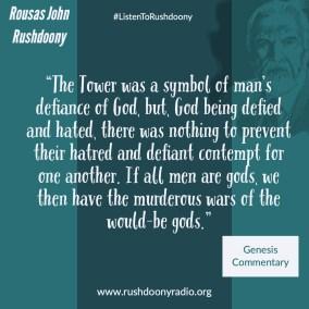 Rushdoony Quote 126-2