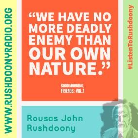 Rushdoony Quote 131