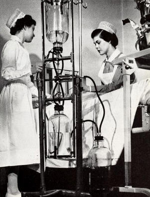 Nurses at St. Luke's Hospital, 1951