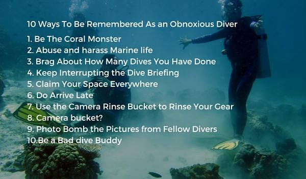 Obnoxious Diver