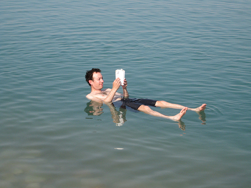 dead sea diving