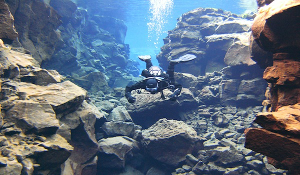 Here's All You Need to Know What Scuba Diving Between Tectonic Plates in Iceland is all about