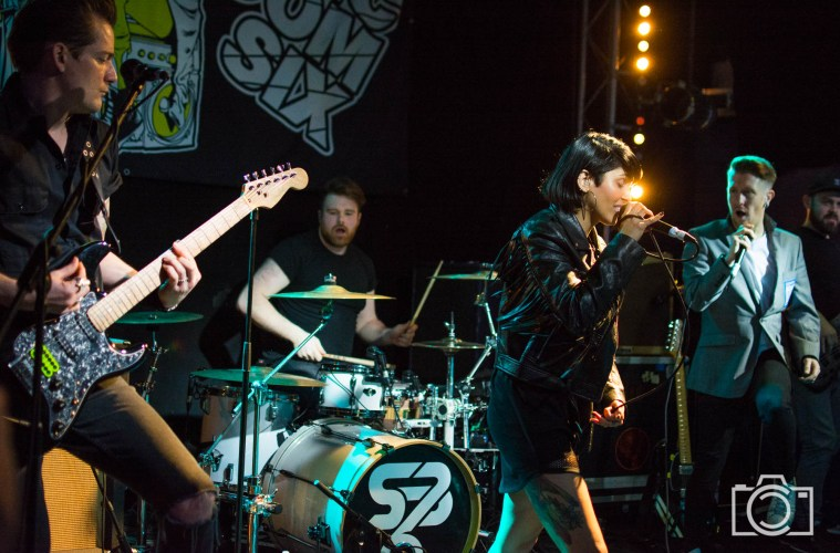 Sonic Boom Six Newcastle gig