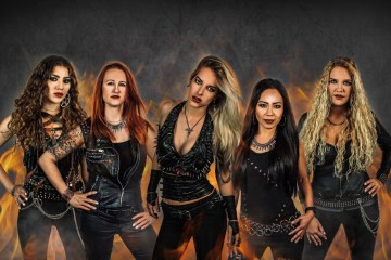 Burning Witches Wings of Steel video