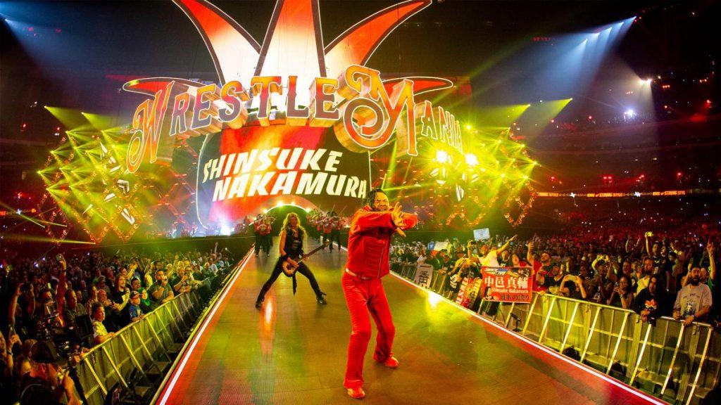 Shinsuke Nakamura - WrestleMania entrances
