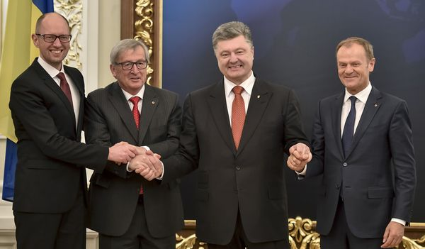 EU-Ukraine summit in Kiev