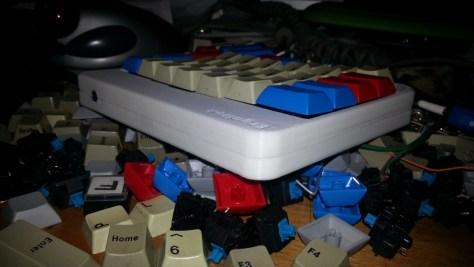 ErgoDox 3D Printed Assembled 4