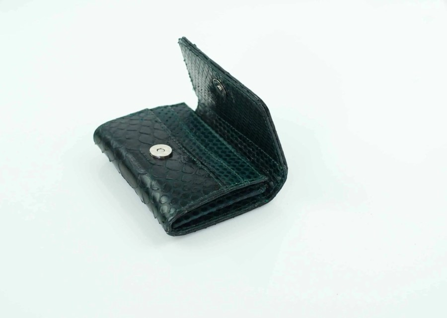 5.3 Dark Green Mini Wallet  scaled